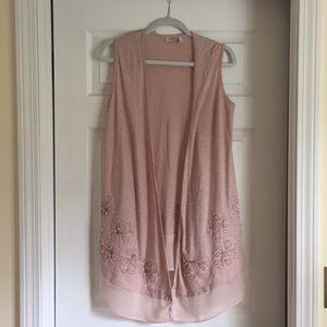 LOGO pink vest